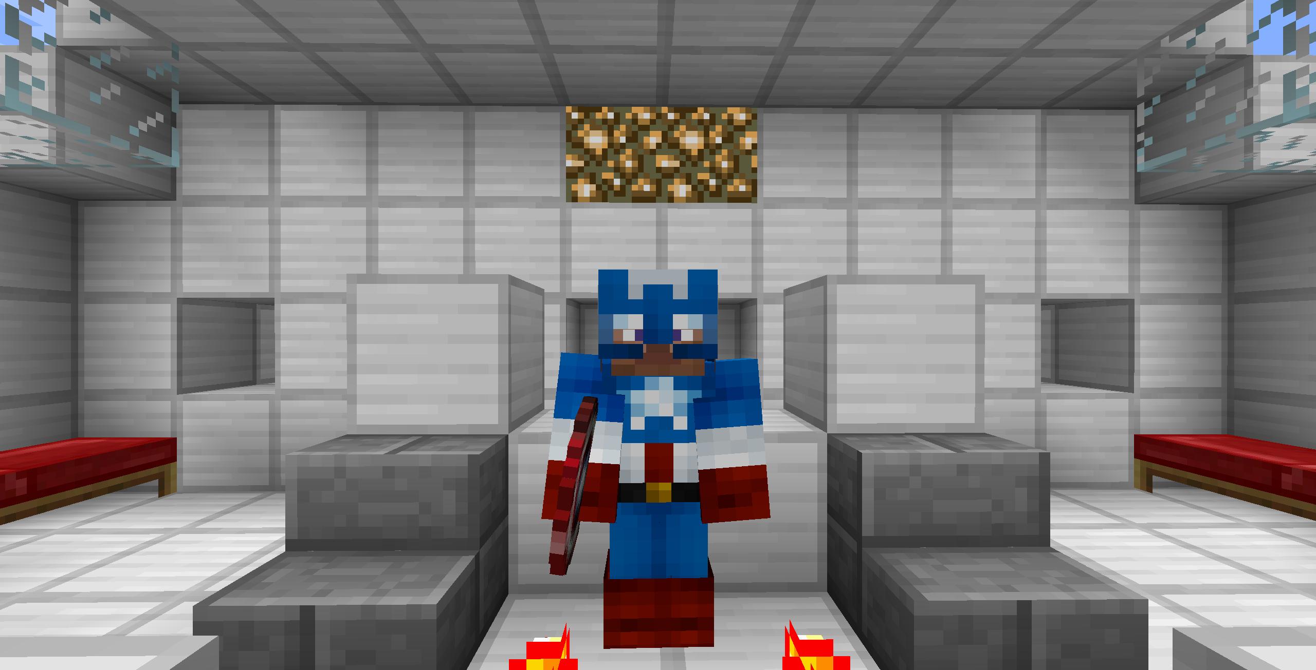 моды на майнкрафт 1.6.4 супергероев