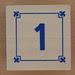 Block Lowercase Number 1