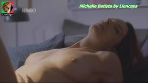 Michelle Batista nua na serie O Negocio