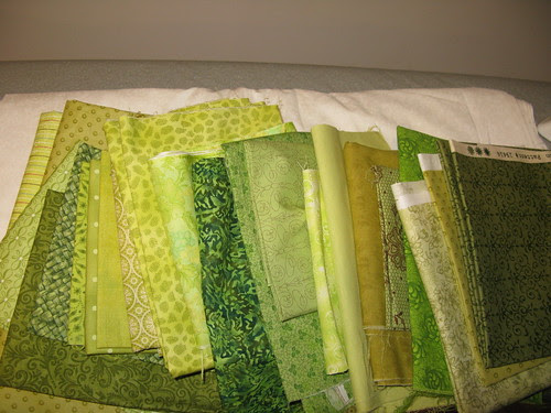 Lilly's Quilts QAL fabrics by Trudi-quiltingprolifically