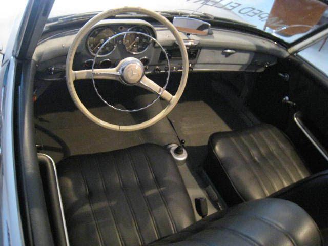 Mercedes 190 SL ELECTRIC REPLICA - Classic Replica/Kit ...
