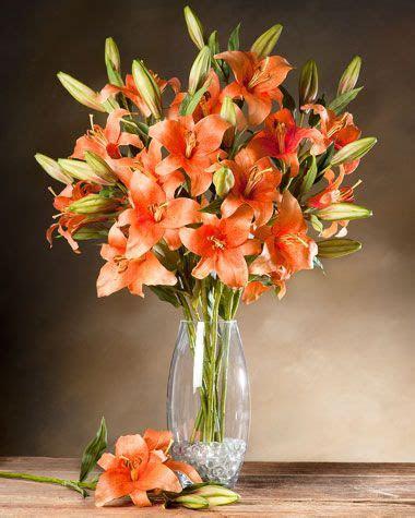 day lily silk flower stem silk flowers  flower