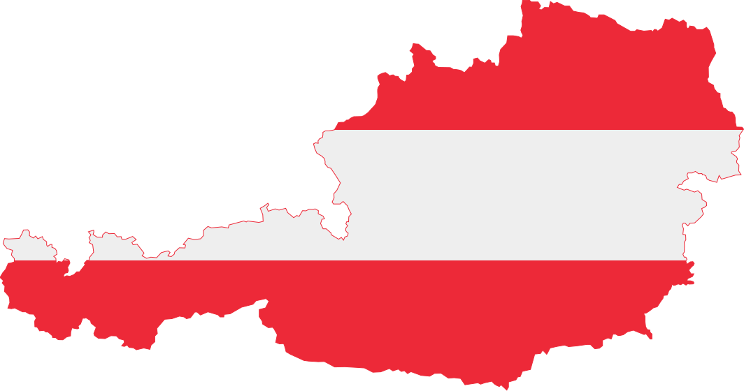 Fileaustrian Map With Flag Colors Svg Wikimedia Commons