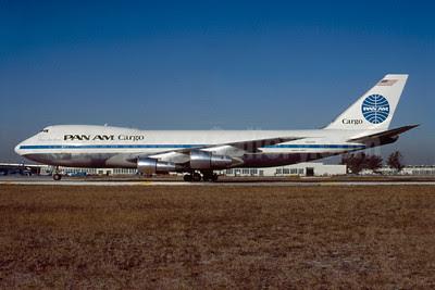 Pan Am Cargo (1st) Boeing 747-221C N904PA (msn 21743) MIA (Bruce Drum). Image: 102958.