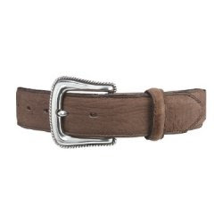 Red Wing Accessories 96553 1-1/2 inch Brown Bullhide Western Belt