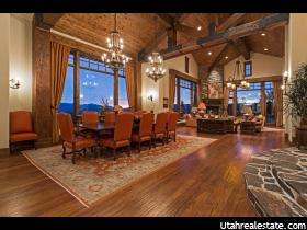 Vaulted wood ceilings with beam accents 8647 N SUNSET CIR, Park City, UT 84098 (MLS # 1332770)