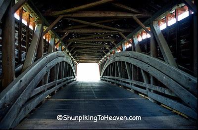 Greisemer's Mill Covered Bridge, 1832, Berks County, Pennsylvania