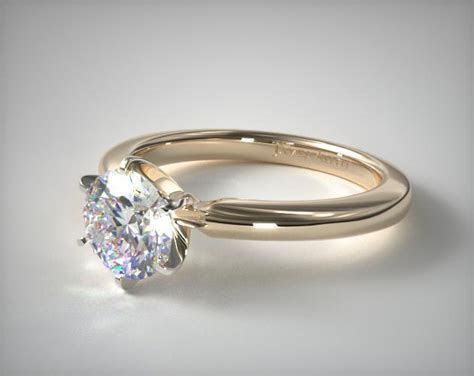 17928Y   2mm Comfort Fit Solitaire Engagement Ring (Six