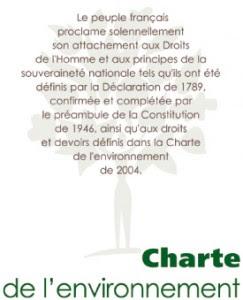 Charte de l'environnement de 2004