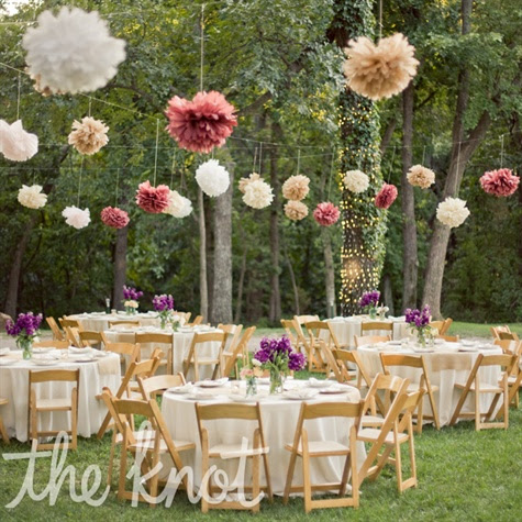 Wedding Decorations For Outside Reception