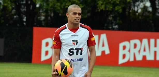Atacante Welliton já treina no São Paulo e teve o nome publicado no BID da CBF