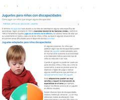 Cómo jugar con niños que tengan alguna discapacidad. Guiainfantil.com