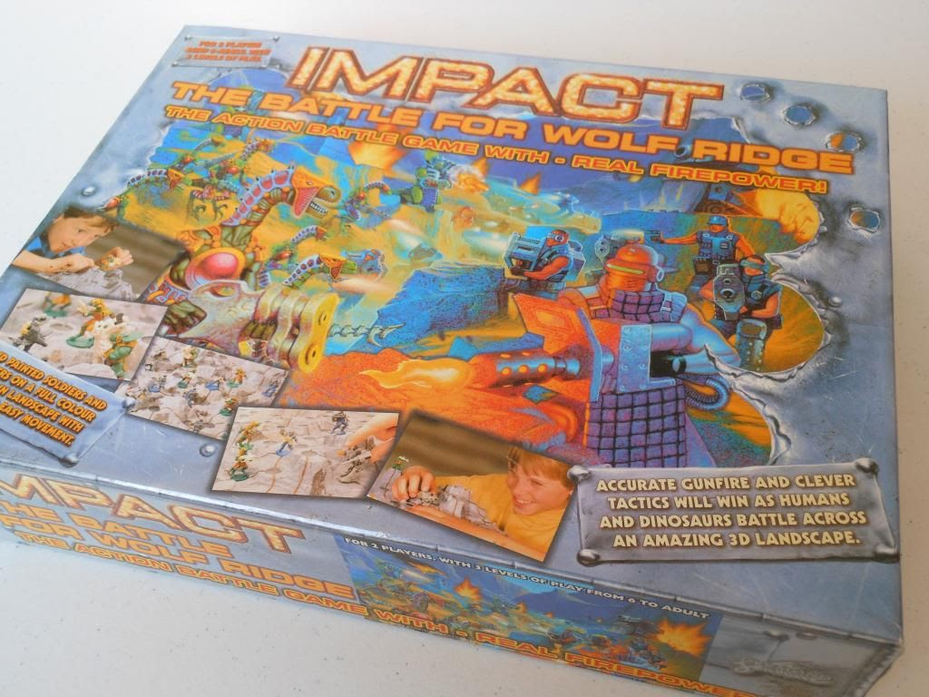 Impact: the Battle for Wolf Ride box