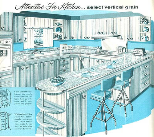 1958 Sears kitchen cabinets and more ? 32 page catalog ...
