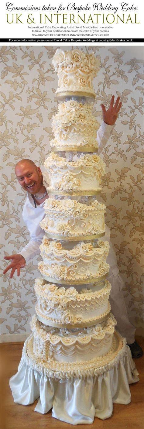Best 25  Tall wedding cakes ideas on Pinterest