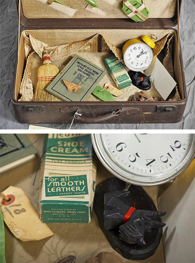 Freda's suitcase.
