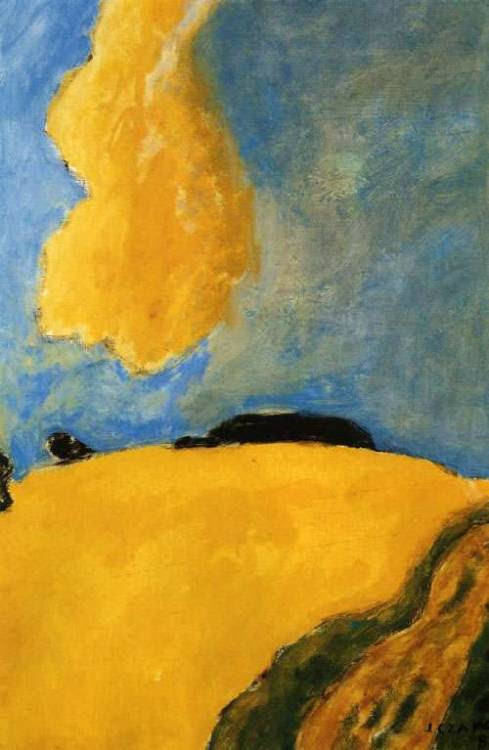 Yellow Cloud (1982) – Józef Czapski