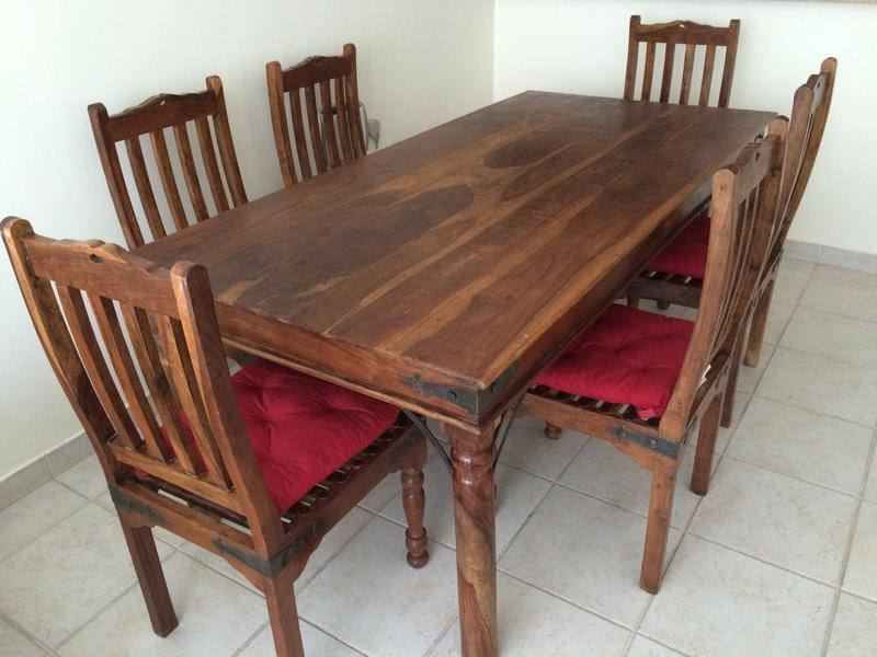 Dubizzle Dubai   Dining Sets: Dining table with 6 chairs ...