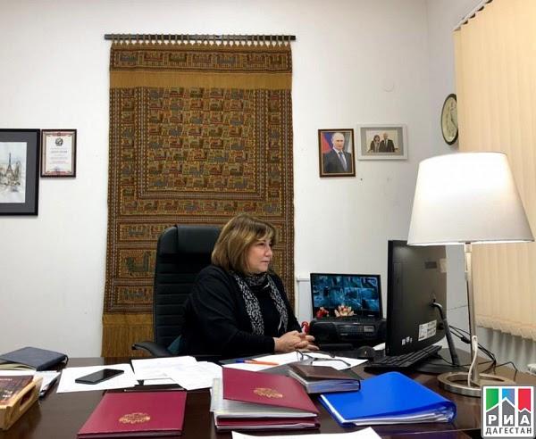 Дагестанский РДНТ принял участие в совещании Центров народного творчества СКФО