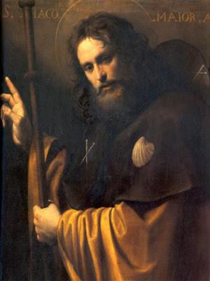 Santiago Apostol Pintura