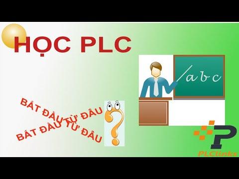 Học PLC nên bắt đầu từ đâu