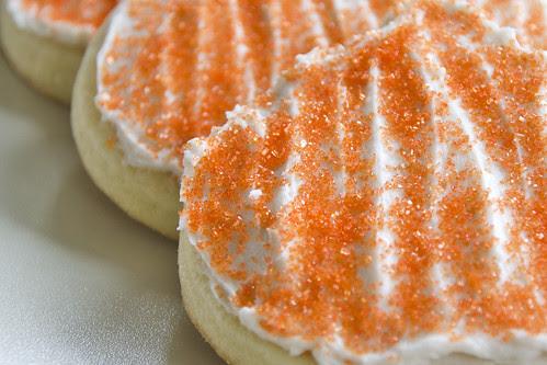 Pumpkin Sugar Cookies