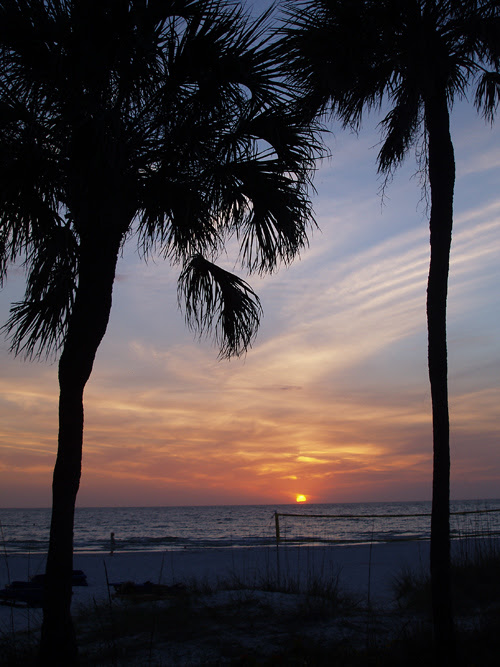 Sunset at St. Pete Beach, Florida
