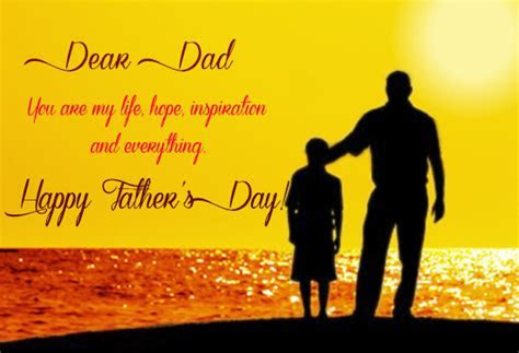 To My Dear Dad. Free From Father's Son eCards, Greeting