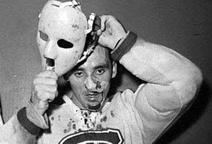 Jacques Plante mask photo Jacques Plante first mask.jpg