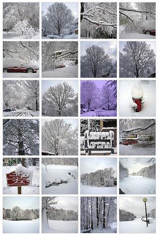 Snow Cliches