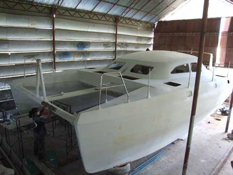 Wooden Power Catamaran Boat Plans ~ narrow boats for sale