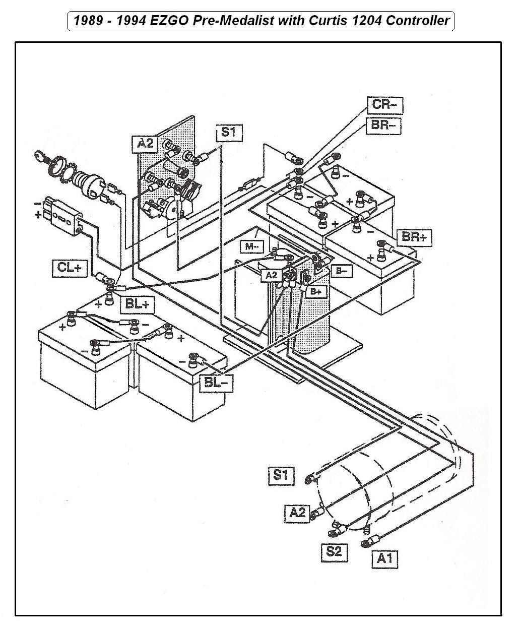1997 Ezgo Txt Wiring Diagram - General Wiring Diagram