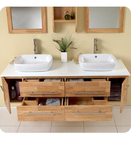 Floating Bathroom Vanities: Space and Style to Spare ...