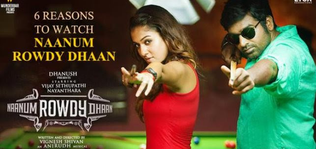 'Naanum Rowdy Dhaan' all set for tomorrow's release