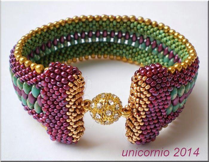 unicorniopasion: Brazalete de crochet