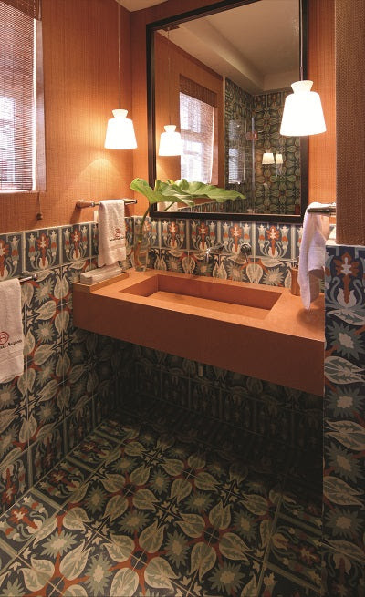 Cuban Heritage Design 130-3B Bathroom Installation