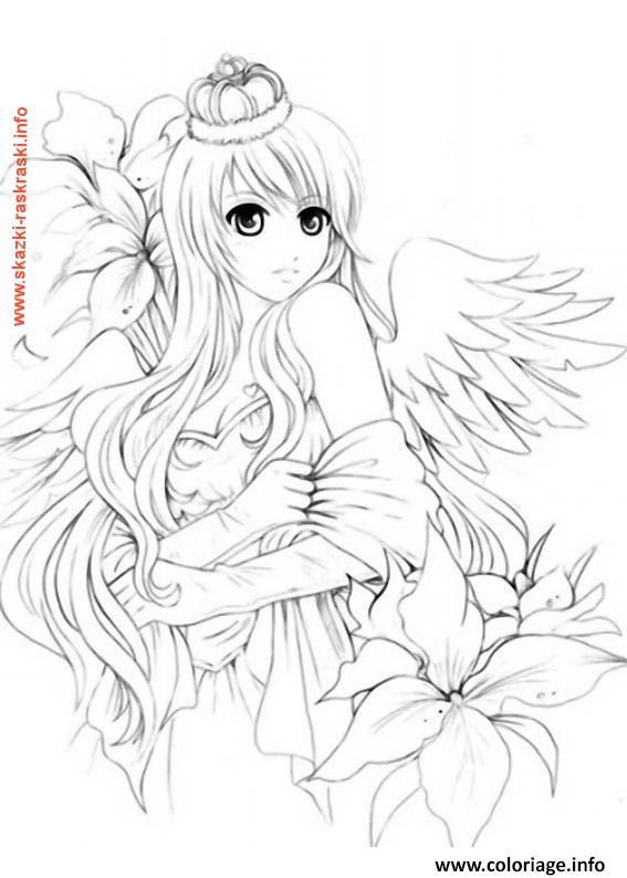 Dessin De Manga à Imprimer Akoi