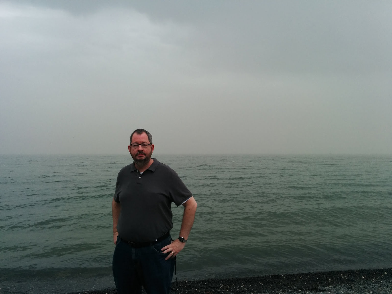 Me and the Sea of Galilee