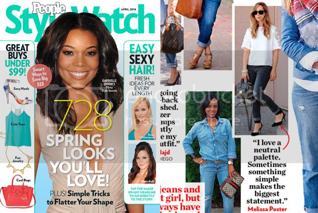 The Key To Chic in PeopleStyle Watch magazine