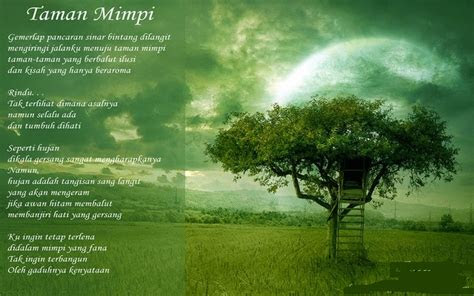 contoh puisi keindahan alam   kumpulan