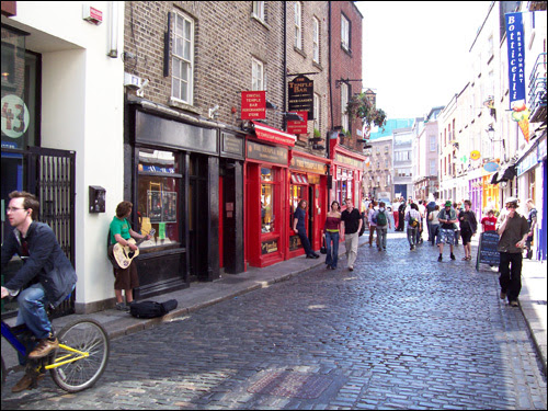 Temple Bar, Dubllin, 2006