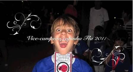 Cauet, de 8 anos, é lateral-esquerdo da Inter de Milão