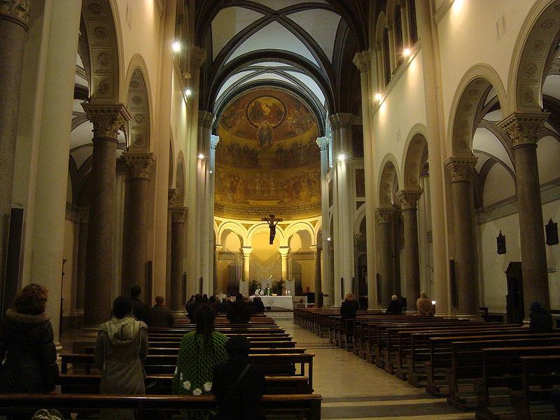 File: Intérieur église Ognissanti de Rome.JPG