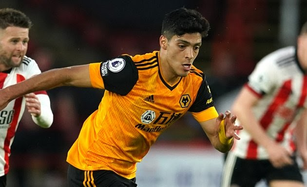 Wolves striker Raul Jimenez admits interest from Juventus and Manchester United