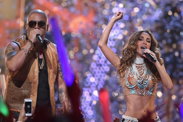 Anahí e Wisin (Foto: Getty Images)