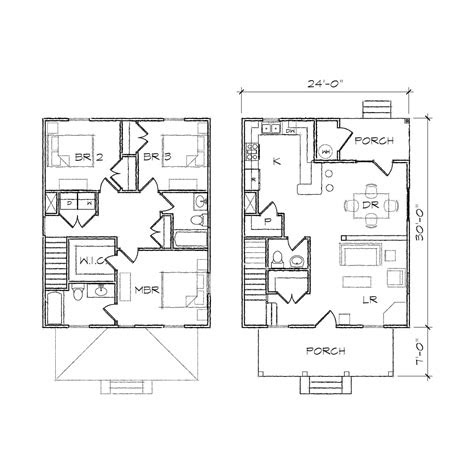 simple square house plans simple square house floor plans