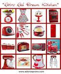 Retro Red Dream Kitchen | Adora Aprons Blog