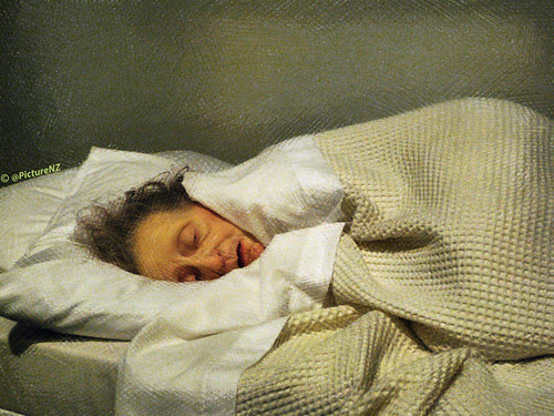 """Old Woman in Bed"" by Ron Mueck by Steve Taylor (Photography)"