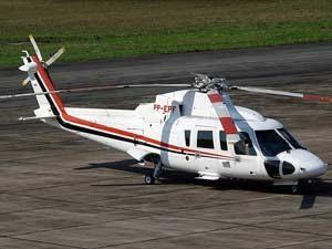 Helicóptero do governo do estado de São Paulo que será vendido por Alckmin (Foto: Divulgação)