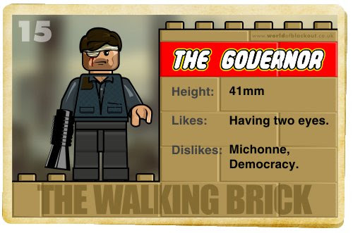 Slightly Inappropriate Lego #15 : The Governor